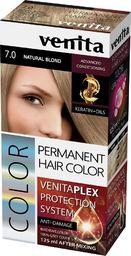 Venita VENITA_Plex Protection System Permanent Hair Color farba do włosów z systemem ochrony koloru 7.0 Natural Blond