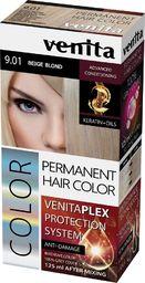 Venita VENITA_Plex Protection System Permanent Hair Color farba do włosów z systemem ochrony koloru 9.01 Beige Blond