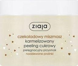 Ziaja ZIAJA_Czekoladowy miszmasz karmelizowany peeling cukrowy Nadziewane Pralinki 300ml