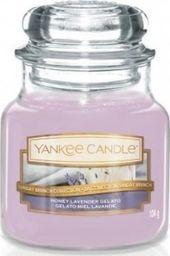 Yankee Candle YANKEE CANDLE_Small Jar mała świeczka zapachowa Honey Lavender Gelato 104g