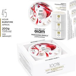 House of Glam HOUSE OF GLAM_Świeca zapachowa Miracle You Are! 200g