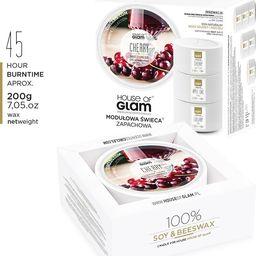 House of Glam HOUSE OF GLAM_Świeca zapachowa Sweet Cherry Liquer 200g