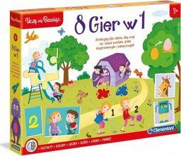 Clementoni Zestaw gier Edukacyjny zestaw 8w1
