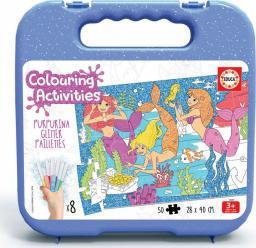 Educa Puzzle do kolorowania 50 elementów Syreny