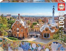 Educa Puzzle 1000 elementów Barcelona widok z parku Guell