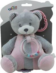 Axiom Pozytywka New Baby - Miś różowy 18 cm