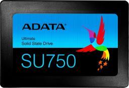 "Dysk SSD ADATA Ultimate SU750 1 TB 2.5"" SATA III (ASU750SS-1TT-C)"