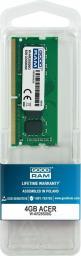 Pamięć dedykowana GoodRam Pamięć dedykowana notebook Acer 8GB/2666 (W-AR26S08G)