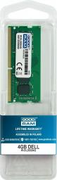 Pamięć dedykowana GoodRam do Dell 4GB, 2666MHz (W-DL26S04G)