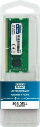 Pamięć dedykowana GoodRam do Dell 8GB, 2666MHz (W-DL26S08G)