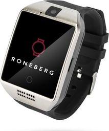 Smartwatch Roneberg Czarny Srebrny
