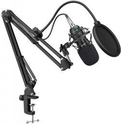 Mikrofon Mozos Zestaw mikrofonowy studyjny (MKIT-800PRO)