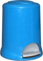 Kosz na śmieci Meliconi na pedał 5L niebieski (14107762734BA BLUE)