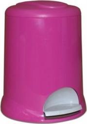 Kosz na śmieci Meliconi na pedał 5L różowy (14107762734BA PINK)