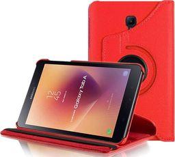 Etui do tabletu Alogy Etui Alogy obrotowe do Samsung Galaxy Tab A 8.0 T380 czerwone uniwersalny