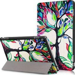Etui do tabletu Alogy Etui Alogy Book Cover do Huawei MediaPad M3 Lite 10 Kolorowe drzewko uniwersalny