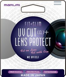 Filtr Marumi MARUMI filtr fotograficzny FIT+SLIM MC UV (CL) 55mm uniwersalny