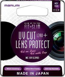 Filtr Marumi MARUMI Fit+Slim Filtr fotograficzny UV 43mm uniwersalny