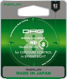 Filtr Marumi MARUMI DHG ND8 Filtr fotograficzny szary 82mm uniwersalny