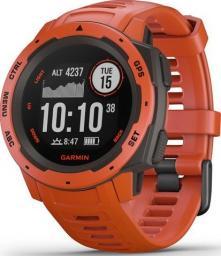 Smartwatch Garmin Instinct Czerwony  (010-02064-02)
