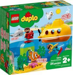LEGO DUPLO Przygoda w łodzi podwodnej (10910)