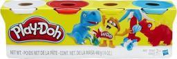 Play-Doh Zestaw 4 Kolorów Klasyczny (B5517/B6508)