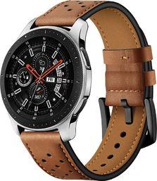 Tech-Protect skórzany pasek do Samsung Galaxy Watch 46mm Brązowy