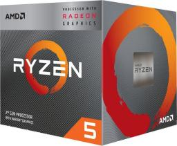 Procesor AMD Ryzen 5 3400G, 3.7GHz, 4 MB, BOX (YD3400C5FHBOX)