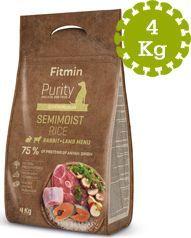 Fitmin  Fitmin dog Purity Rice Semimoist Rabbit&Lamb - 4 kg