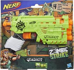 Nerf Wyrzutnia Zombie Strike Quadrot Blaster  (E2673)