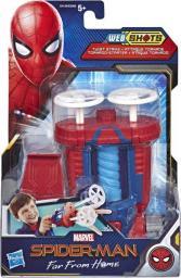 Hasbro Wyrzutnia Web Shots Gear Twist Strike Spider-Man Daleko od domu  (E4128)