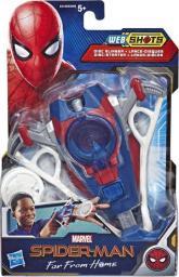 Hasbro Wyrzutnia Web Shots Gear Disc Slinger Spider-Man Daleko od domu  (E4129)