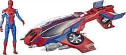 Hasbro Odrzutowiec SpiderMana Spider-Jet Spider-Man Daleko od domu  (E3548)