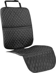 TULOKO ochronna mata pod fotelik czarna (5938885)