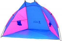 ROYOCAMP Namiot plażowy Sun 200x120x120cm niebiesko-różowy