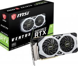 Karta graficzna MSI GeForce RTX 2070 SUPER VENTUS OC 8GB GDDR6 (RTX 2070 SUPER VENTUS OC)