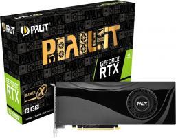 Karta graficzna Palit GeForce RTX 2070 SUPER X 8GB GDDR6 (NE6207S019P2-180F)