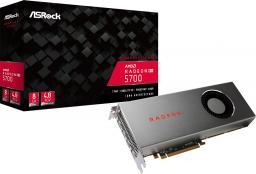 Karta graficzna ASRock Radeon RX 5700 8GB GDDR6, HDMI, 3xDP, BOX (Radeon RX 5700 8G)