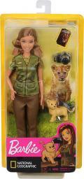 Barbie National Geographic. Fotografka dzikiej przyrody z aparatem (GDM44/GDM46)