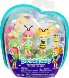 Enchantimals Małe przyjaciółki kwitnący ogród 2-PACK Cay Caterpillar i Beetrice Bee (FXM86/FXM88)