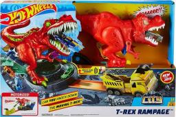 Hot Wheels City Zestaw Atak T-Rexa (GFH88)