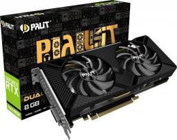 Karta graficzna Palit  GeForce RTX 2060 SUPER Dual 8GB GDDR6 (NE6206S018P2-1160A)