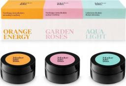 Make Me Bio Zestaw Make Me Bio: Orange Energy, Garden Roses, Aqua Light 3x20 ml