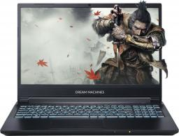 Laptop Dream Machines G1050-15PL50 16 GB RAM/ 480 GB M.2 PCIe/ 480 GB SSD/ Windows 10 Pro