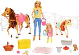 Barbie Stadnina Koni zestaw z lalką (FXH15)