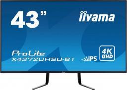 Monitor iiyama X4372UHSU-B1
