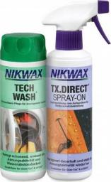 Nikwax Zestaw pielęgnacyjny Tech Wash/TX. Direct Spray-On 2x300ml (NI-02)