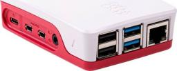 Raspberry Pi Pi 4 Case - Red/White