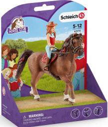 Figurka Schleich Horse Club Hannah i Cayenne (42514)