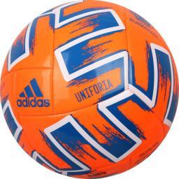 Adidas Piłka nożna Uniforia Club pomarańczowa Euro 2020 r. 5